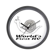 World's First RV Wall Clock