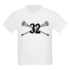 Lacrosse Number 32 T-Shirt
