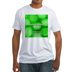 Swine Influenza A (H1N1) Fitted T-Shirt