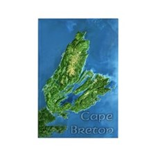 Cape Breton Rectangle Magnet