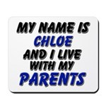 my name is chloe and I live with my parents Mousep