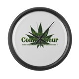 KUSH CONNOISSEUR Large Wall Clock