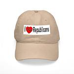 I Love Republicans Cap