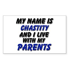 my name is chastity and I live with my parents Sti
