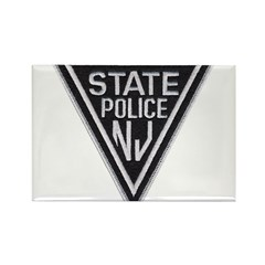 New Jersey State Police Rectangle Magnet (10 pack)