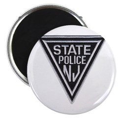 New Jersey State Police Magnet