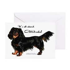 Dachshund Attitude Greeting Cards (Pk of 10)