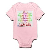 HB BF SR CS CD NV Lucky Baby Onesie