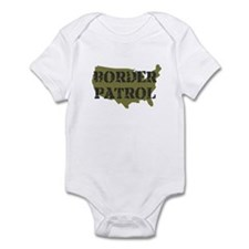US BORDER PATROL SHIRT LOGO Infant Bodysuit