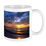 Sunset with Timothy verse Coffee Mug