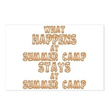 Summer Camp Postcards (Package of 8)