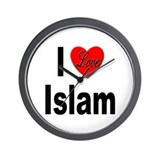 I Love Islam Wall Clock