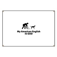 American English Coonhound Banner