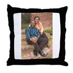 Philip & Dale's Throw Pillow