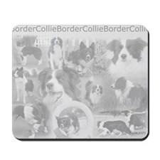 Cool Border collie Mousepad