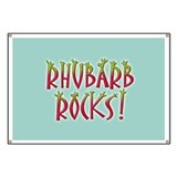 Rhubarb Rocks Banner