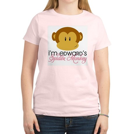 I'm Edward's Spider Monkey Women's Light T-Shirt