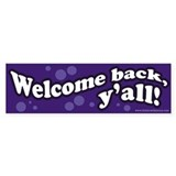 Welcome back, y'all!