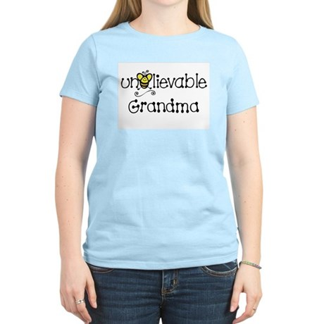 Unbelievable Grandma Women's Light T-Shirt