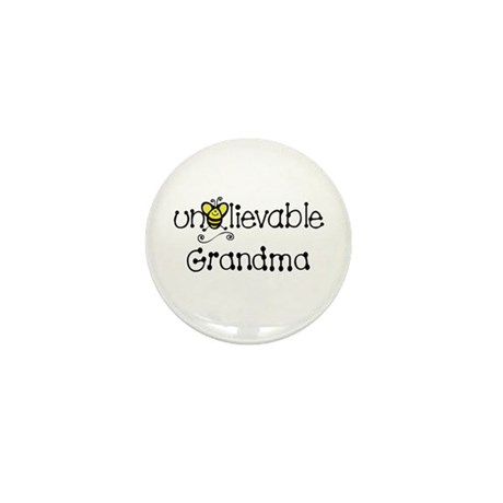 Unbelievable Grandma Mini Button (10 pack)