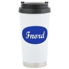Fnord Ceramic Travel Mug
