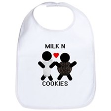 Milk N Cookies Bib