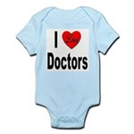 I Love Doctors Infant Creeper