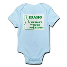 IDAHO WE HAVE BIG POTATOES RE Infant Creeper