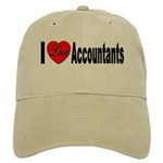 I Love Accountants Cap