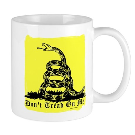 Don't Tread On Me Gadsden Mug