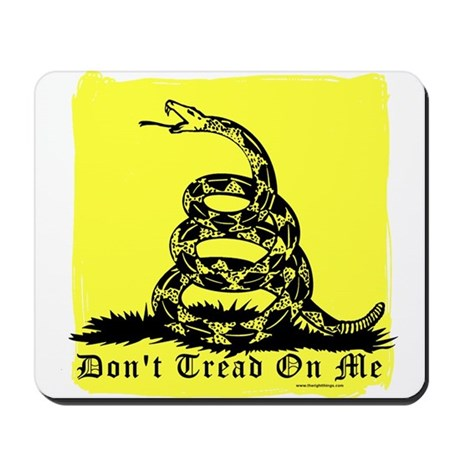 Don't Tread On Me Gadsden Mousepad