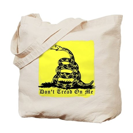 Don't Tread On Me Gadsden Tote Bag