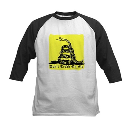 Don't Tread On Me Gadsden Kids Baseball Jersey