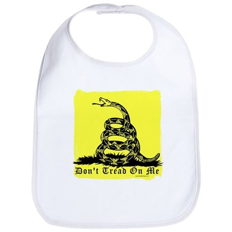 Don't Tread On Me Gadsden Bib