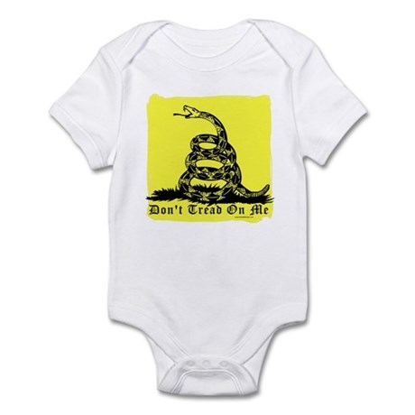 Don't Tread On Me Gadsden Infant Bodysuit