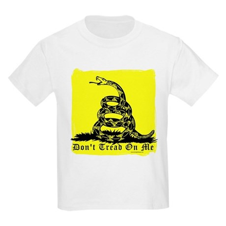 Don't Tread On Me Gadsden Kids Light T-Shirt