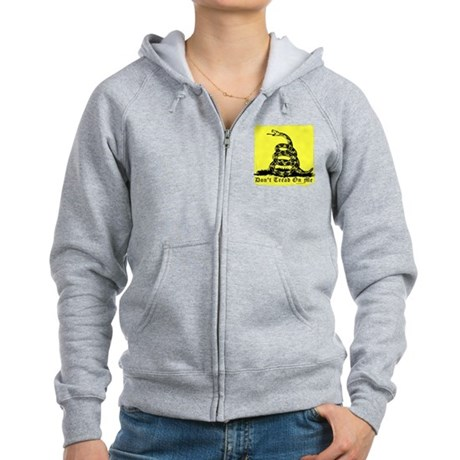 Don't Tread On Me Gadsden Women's Zip Hoodie