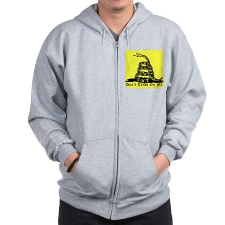 Don't Tread On Me Gadsden Zip Hoodie