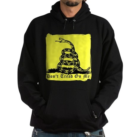 Don't Tread On Me Gadsden Hoodie (dark)