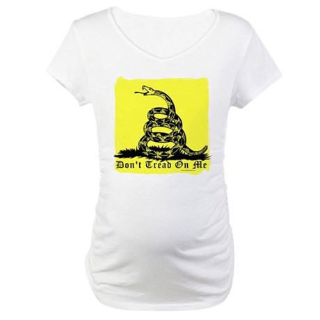 Don't Tread On Me Gadsden Maternity T-Shirt