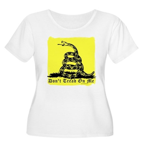 Don't Tread On Me Gadsden Women's Plus Size Scoop