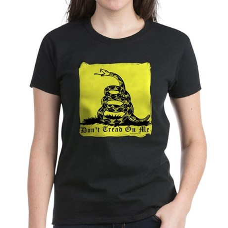 Don't Tread On Me Gadsden Women's Dark T-Shirt