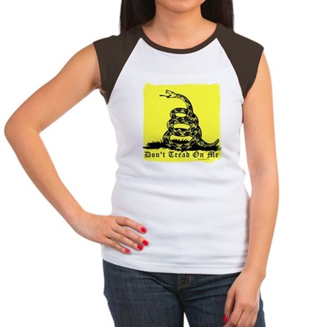 Don't Tread On Me Gadsden Women's Cap Sleeve T-Shi