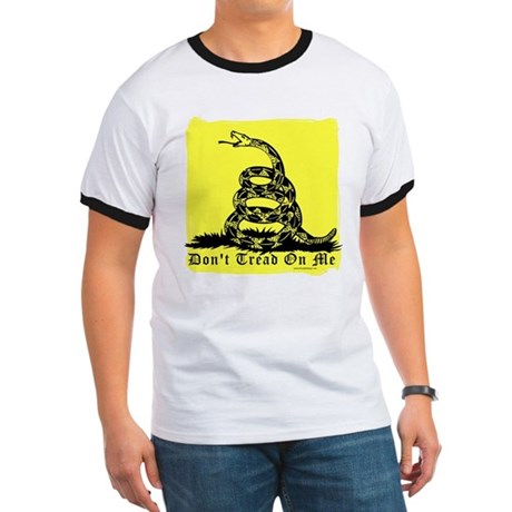 Don't Tread On Me Gadsden Ringer T