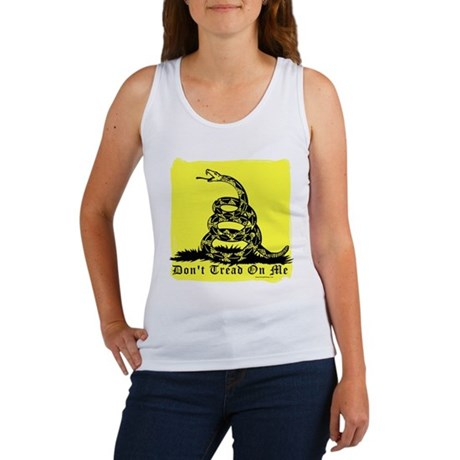 Don't Tread On Me Gadsden Women's Tank Top