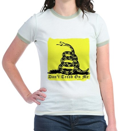 Don't Tread On Me Gadsden Jr. Ringer T-Shirt