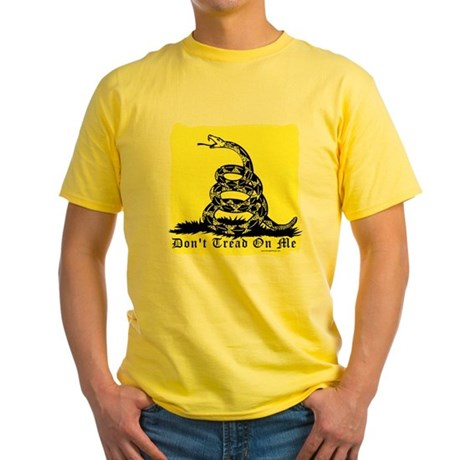 Don't Tread On Me Gadsden Yellow T-Shirt