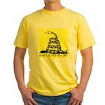 Don't Tread On Me Gadsden Yellow T-Shirt