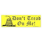 Don't Tread On Me Gadsden Bumper Sticker (10 pk)
