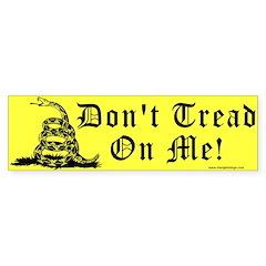 Don't Tread On Me Gadsden Bumper Sticker